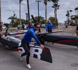 35th America's Cup: Training of Ben Ainslie team in Bermuda