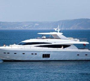 Princess Yachts America to display 12 luxury yachts at Miami Yacht & Brokerage Show 2015