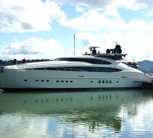 Palmer Johnson motor yacht VANTAGE arrives at Oceania Marine