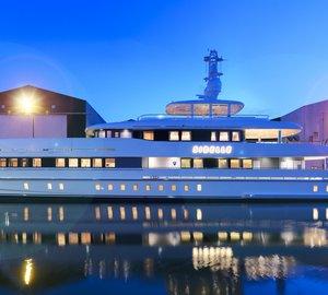 Heesen Yachts launch 50m YN 16750 motor yacht SIBELLE