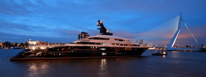 91.5m motor yacht EQUANIMITY (Y709) by Oceanco