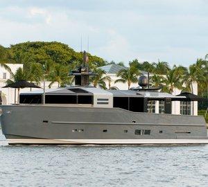 US debut of Arcadia 85 US Edition motor yacht hull #8 at upcoming Miami Yacht Brokerage Show 2015