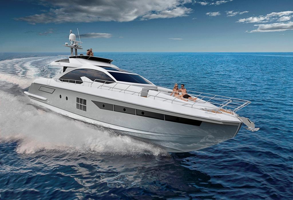 azimut 77s yacht underway  u2014 yacht charter  u0026 superyacht news
