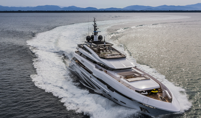 FR028 motor yacht POLARIS II by Rossinavi