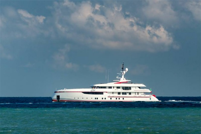 ISA 54M superyacht Forever One - Photo credit to Paolo Zitti