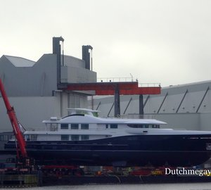 Photos: New 55m LE 180 motor yacht Hull 467 launched by Amels