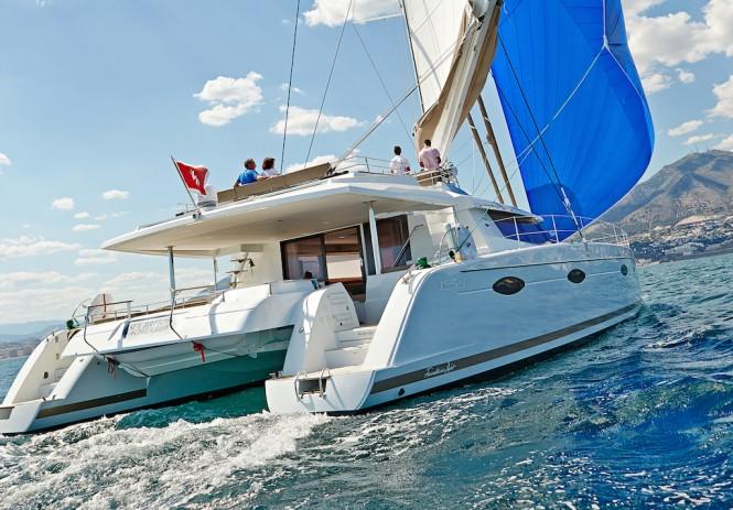 Luxury catamaran LIR