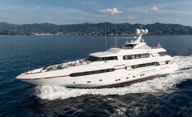 Luxury motor yacht Atomic (Project Sunset) by Sunrise Yachts