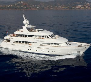 Moonen 124 motor yacht Northlander to be displayed at Miami International Boat Show 2015