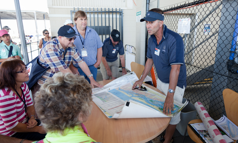 Navigation tips were shared with existing and aspiring Riviera owners