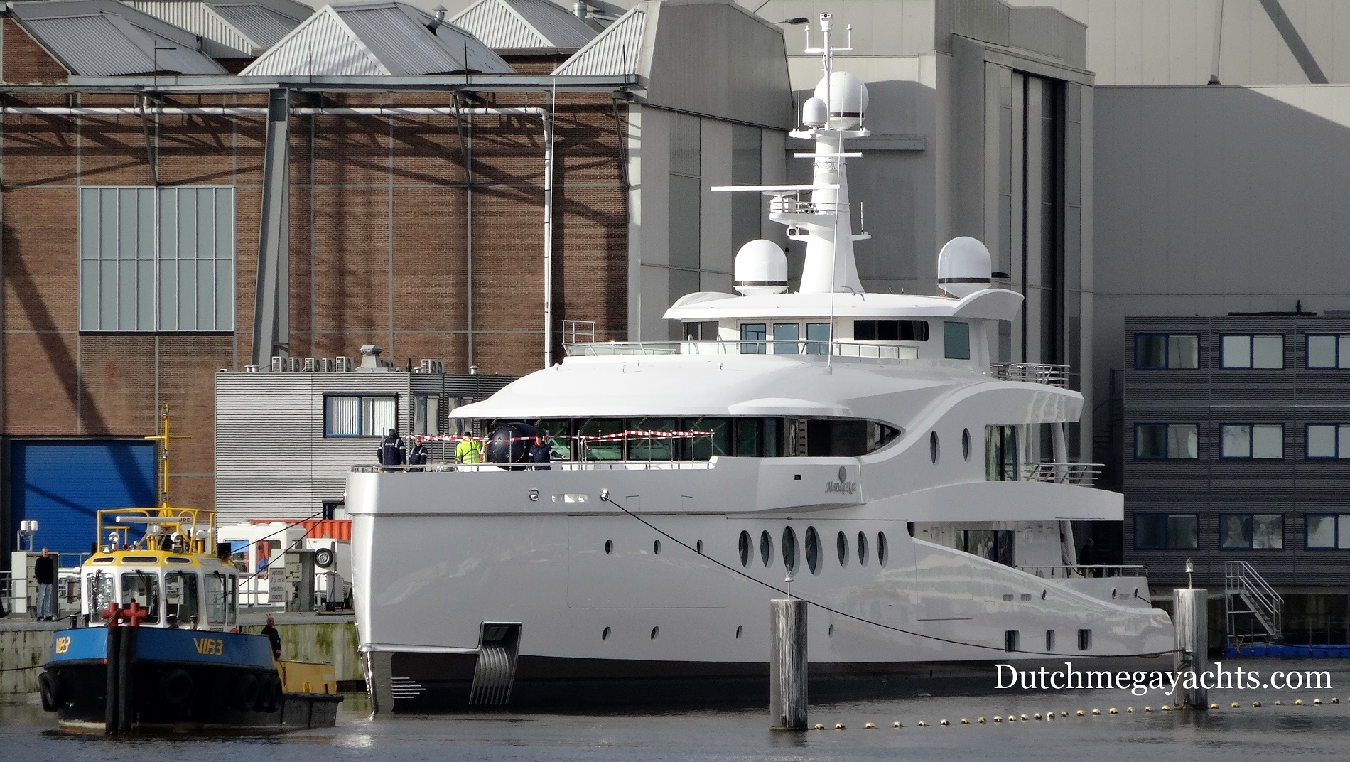 Newly launched super yacht Madame Kate by Amels