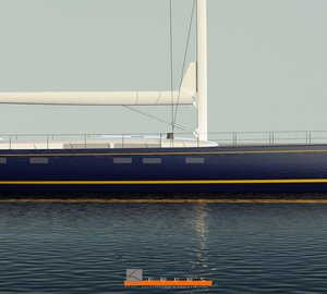 New renderings of 33m Yachting Developments superyacht Hull 1012