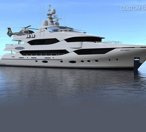 New 43m Custom Series motor yacht MISSING LINK launched by Christensen Shipyards