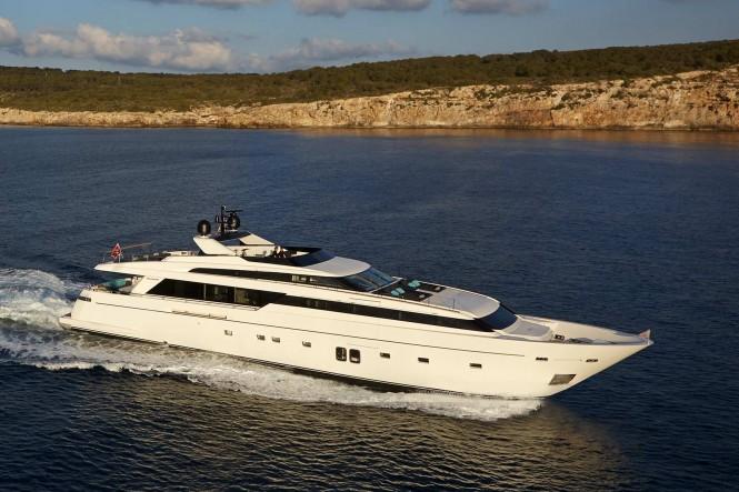 Sanlorenzo SL118 super yacht H1