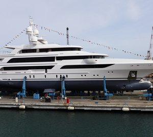 New 63m motor yacht FB264 launched by Benetti