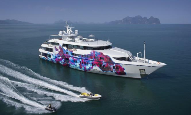 69m charter yacht SALUZI