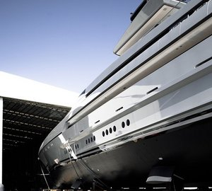 Photos from launch of 77m mega yacht SILVER FAST by SILVER YACHTS