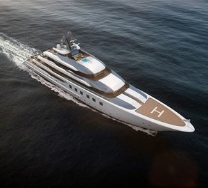 Blohm+Voss to showcase new 80m motor yacht BV80 at London Yacht, Jet and Prestige Car Show