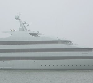Photos and video of 83m Feadship motor yacht SAVANNAH under sea trials