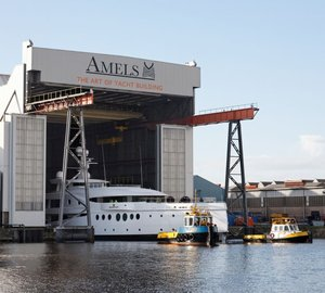 AMELS 199 motor yacht MADAME KATE launched