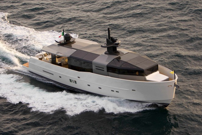 Arcadia 85 Yacht by Arcadia Yachts