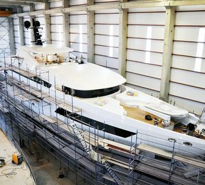 New 47m BEBE Yacht launched by VOS Marine