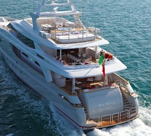 SAARANHA&VASCONCELOS nominated for IY&A Award 2015 with Baglietto 43 motor yacht WHY WORRY