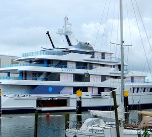 Photos of 92m Feadship motor yacht ROYAL ROMANCE (hull 1005)
