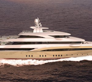 New 72m motor yacht O'PARI 3 launched by Golden Yachts