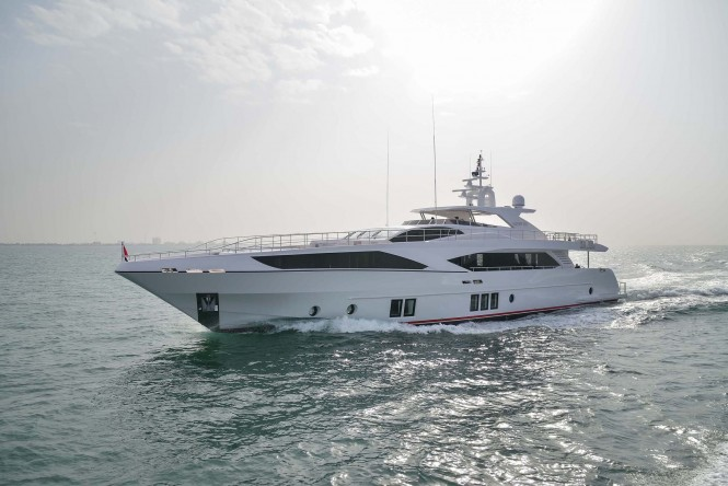Gulf Craft superyacht Majesty 122