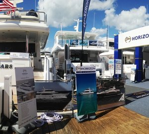 Another wonderful Miami Yacht & Brokerage Show for Horizon Yachts