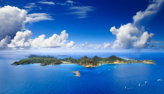 Les Voiles de St. Barth hosted by the fantastic Caribbean yacht holiday destination - St. Barth © Jouany Christophe