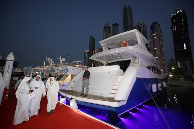 Luxury motor yacht AS100 by Al Shaali Marine