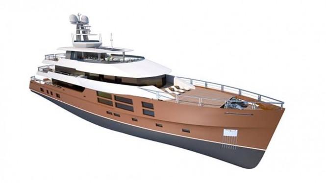Luxury yacht DIAMOND design by Greg Marshall