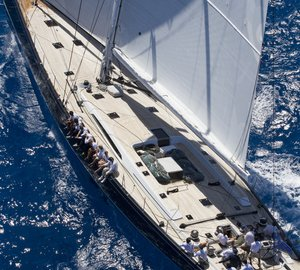 Nauta-designed sailing yacht CAPE ARROW wins at St. Barths Bucket Regatta 2015