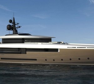 New 50m expedition motor yacht ENDURANCE 50 (FR032) sold by Rossinavi