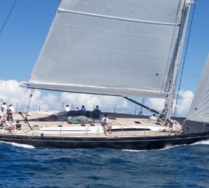 A great success of SW 100 RS sailing yacht CAPE ARROW at St Barths Bucket Regatta 2015