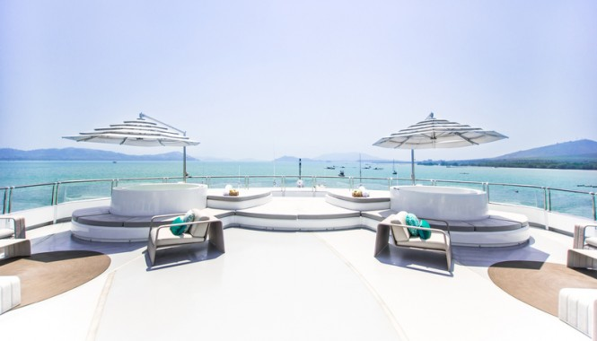 Superyacht Saluzi - Sun Deck