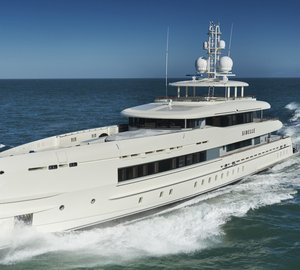 New 50m fully custom FDHF motor yacht SIBELLE delivered by Heesen Yachts