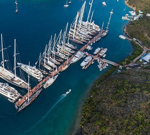 Superyachts start to arrive for Loro Piana Caribbean Superyacht Regatta & Rendezvous 2015