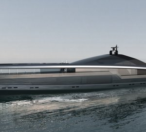 100m motor yacht MAXIMUS concept by Facheris Design