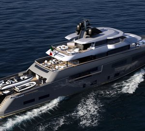 New 50m superyacht design projects by CRN and Zuccon International Project