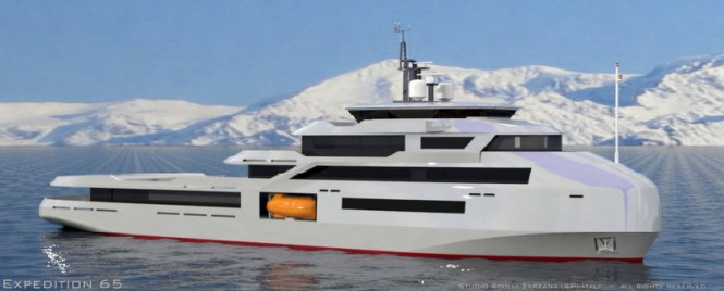 Robust 65m Supply Vessel Luxury Motor Yacht MSS EXPEDITION65 design by Studio Sculli — Yacht ...