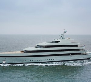 Photos of  83m Feadship motor yacht SAVANNAH (hull 686) undergoing sea trials