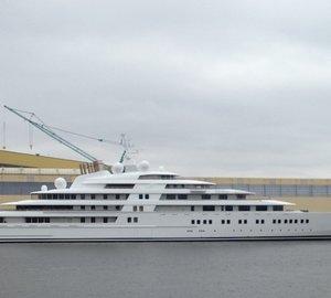 Mighty 180m Giga Yacht AZZAM Gross Tonnage