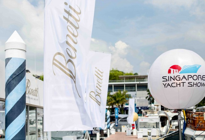 Benetti at the 2015 Singapore Yacht Show