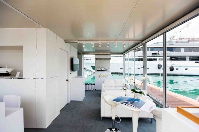 Benetti's Stand at the 2015 Singapore Yacht Show