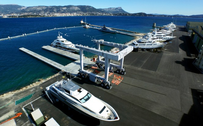 IMS Shipyard becomes largest yacht repair shipyard in the Mediterranean — Yacht Charter ...