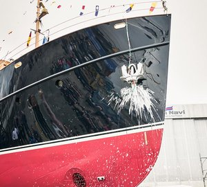 Rossinavi launch 38m classic superyacht TARANSAY