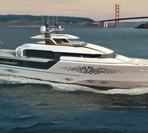 Striking 51m expedition motor yacht FLOW concept by Vripack